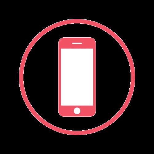 iphone icon bare